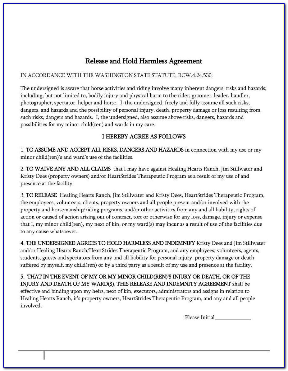 Indemnity Agreement Sample Great Indemnity Letter Template Free Au M136205