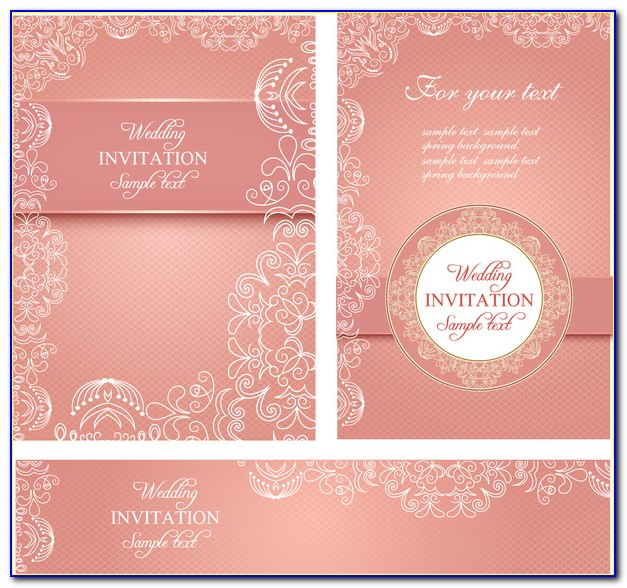 Indian Wedding Invitation Card Template Psd