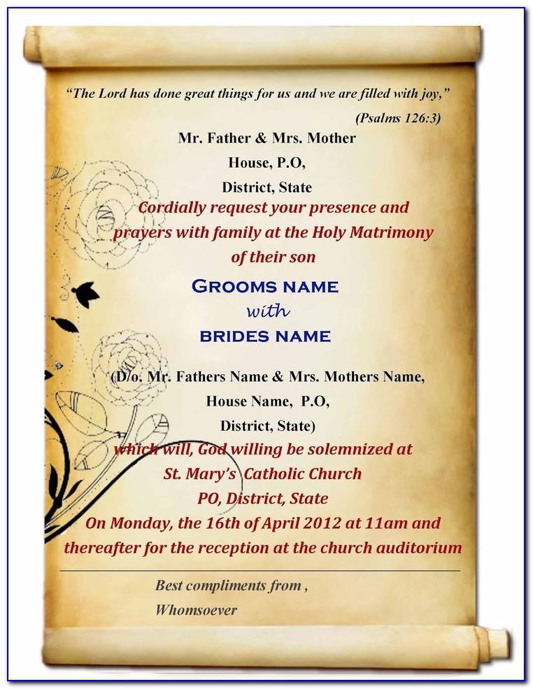 Indian Wedding Invitation Cards Designs