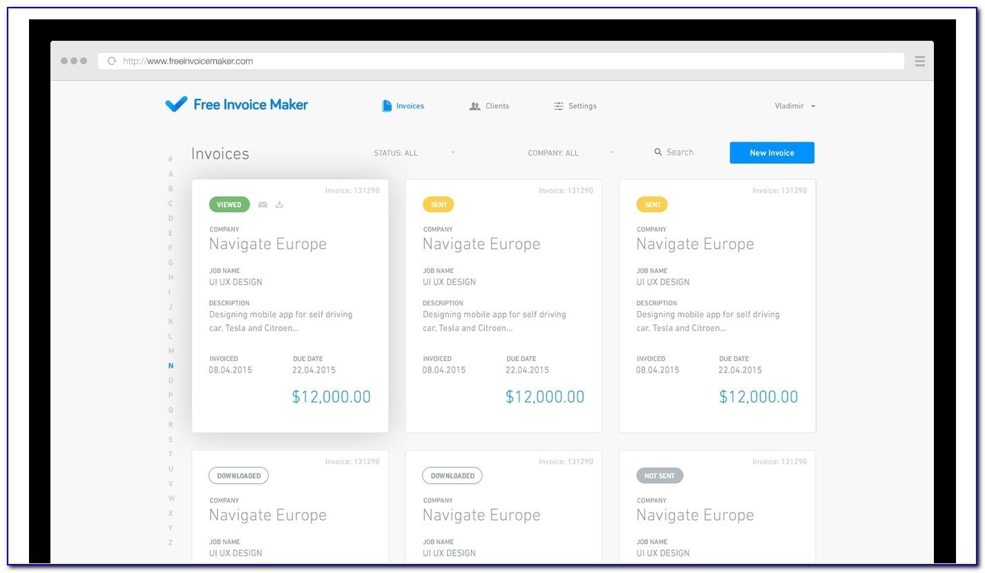 Invoice Creator Online Free Invoice Creator Free Invoice Invoice Creator App