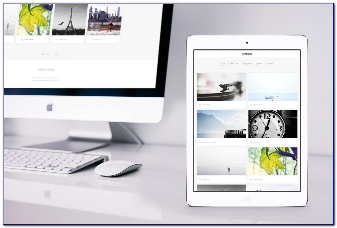 Joomla Photography Template Free Download