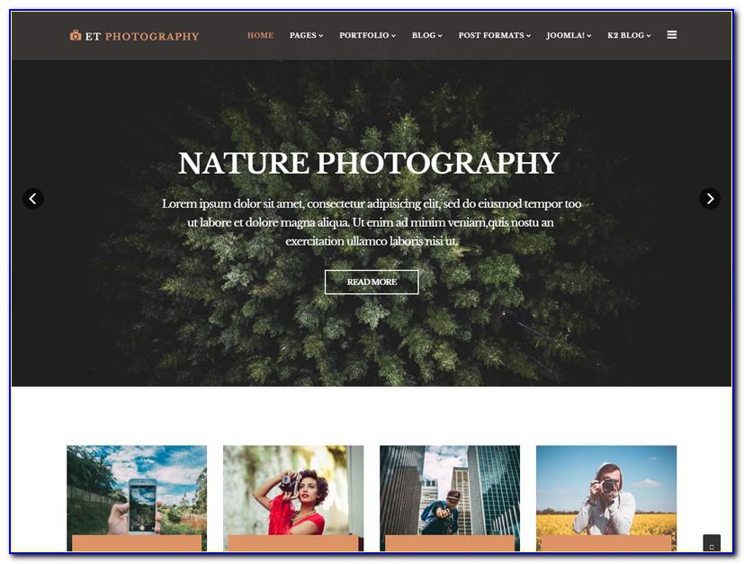 Joomla Photography Templates Free Download