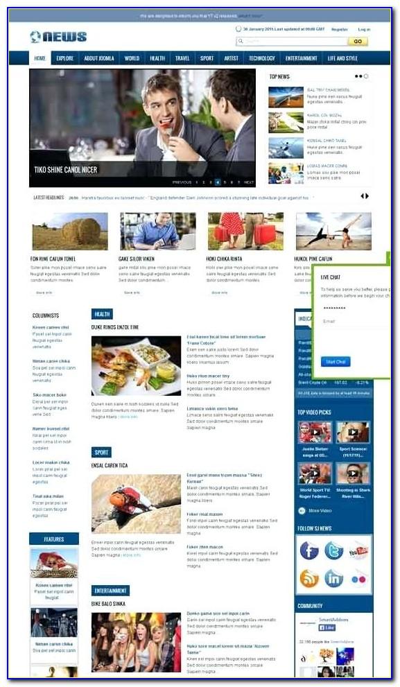 Joomla School Website Templates Free Download
