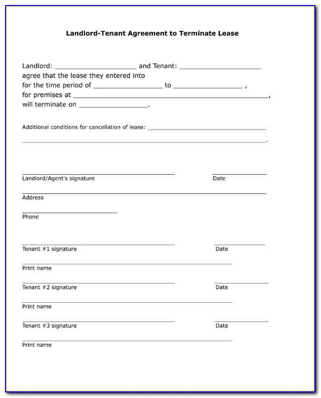 Landlord Contracts Forms
