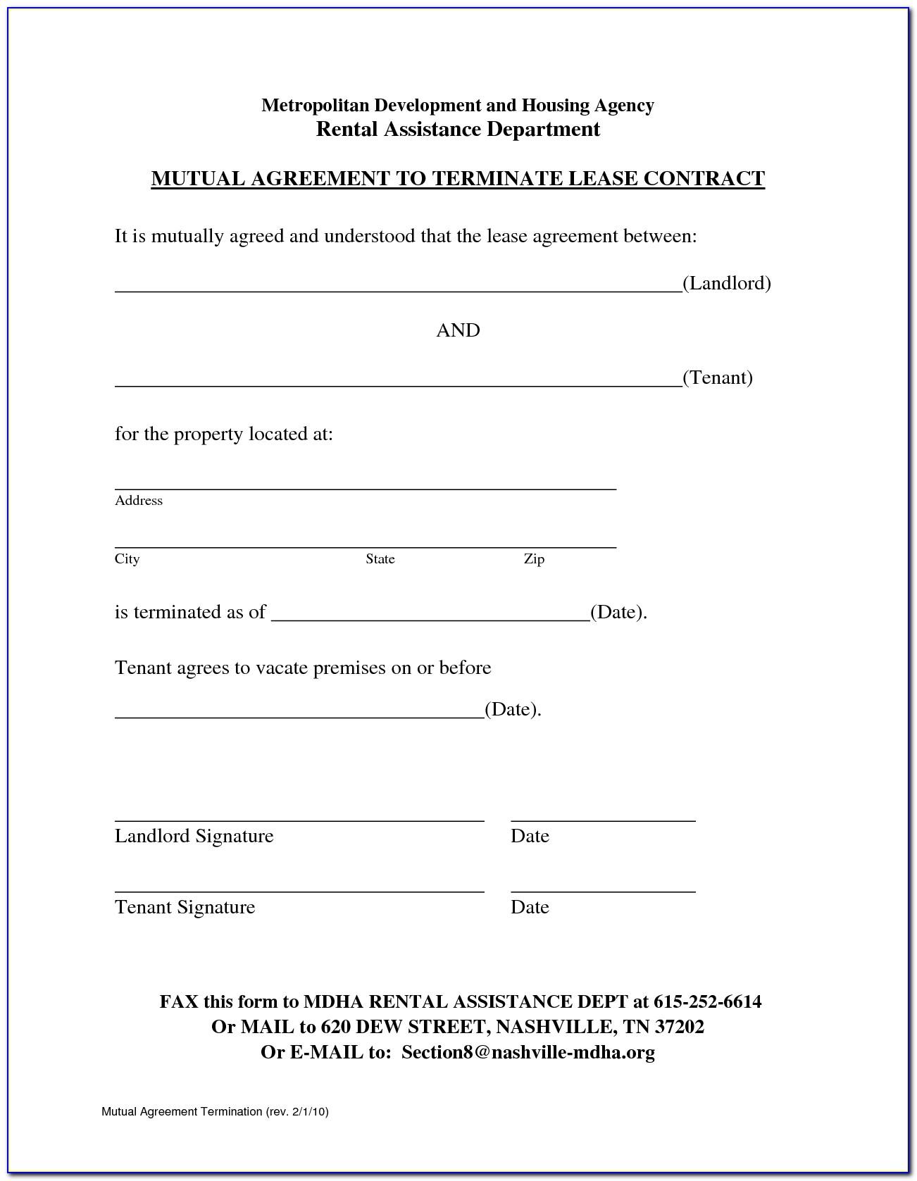 Landlord Tenant Contract Template California