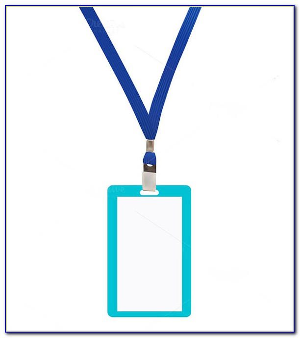 Lanyard Badge Template Word