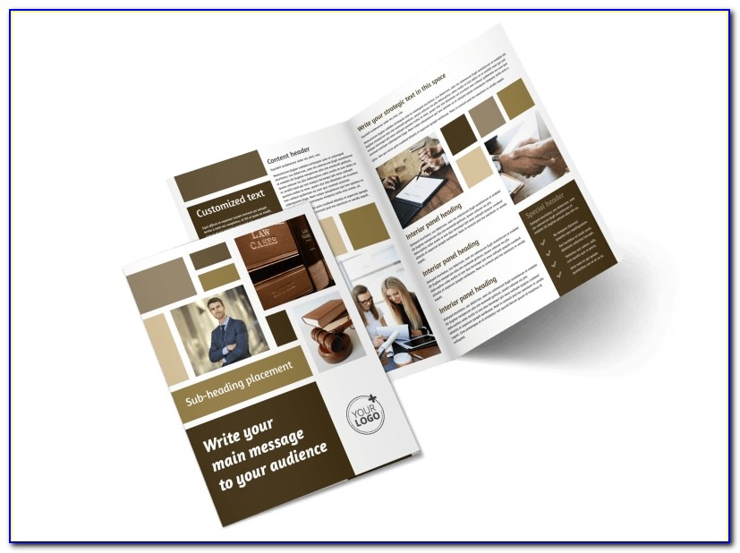 Law Firm Flyer Template