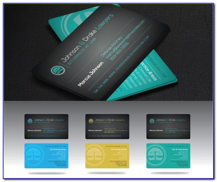 Legal Business Card Templates Free