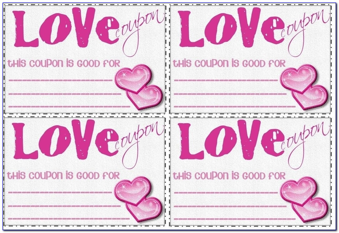 Love Coupon Template Microsoft Word | Flogfolioweekly Pertaining To Love Coupon Template Microsoft Word