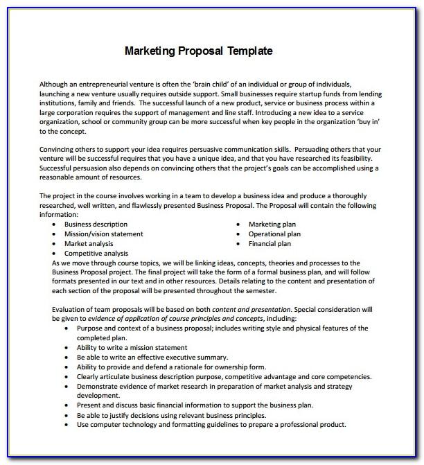 Marketing Strategy Plan Template Free