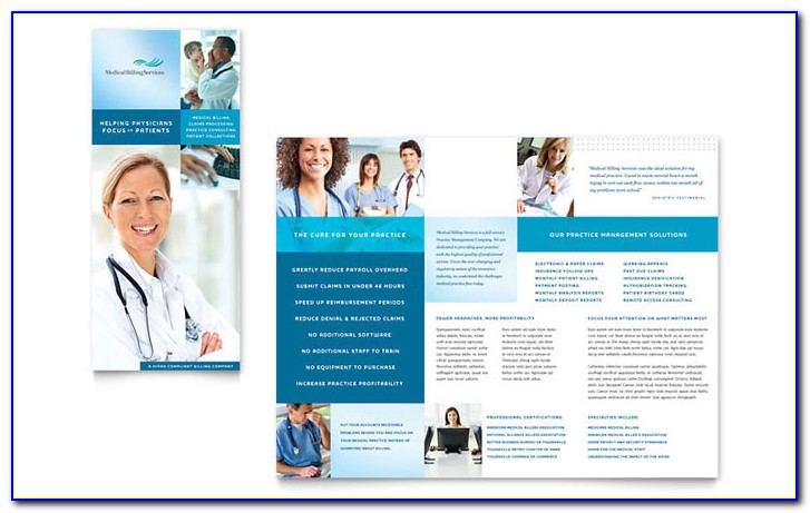 Medical Office Brochure Templates