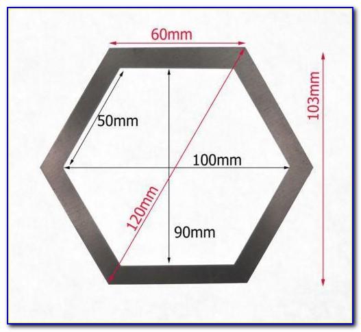 Metal Hexagon Patchwork Templates