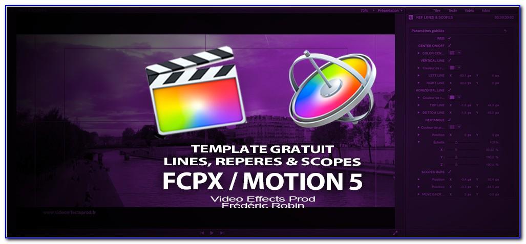 Motion Template Final Cut Pro X