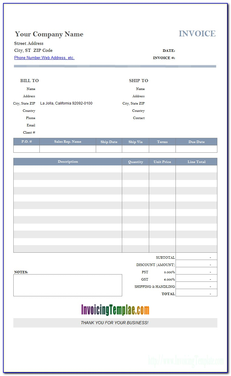 Ms Access Invoice Form