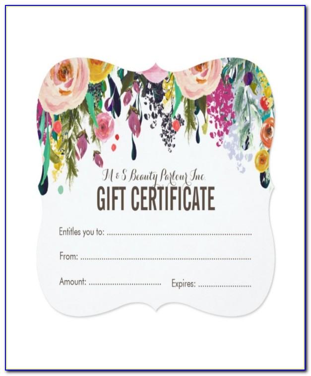 Salon Gift Certificate Template 8 Free Pdf Psd Ai Vector Nail Salon Gift Certificate Template Nail Salon Gift Certificate Template
