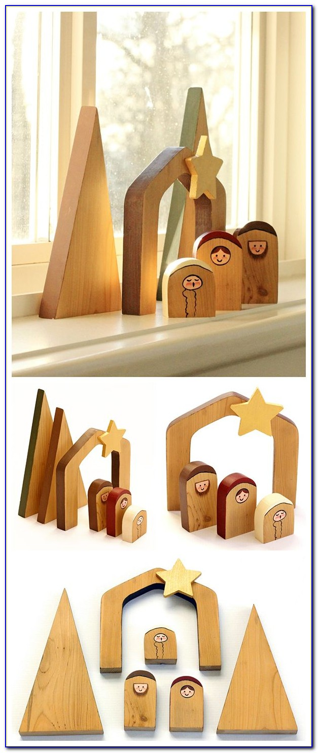Nativity Scene Template For Wood