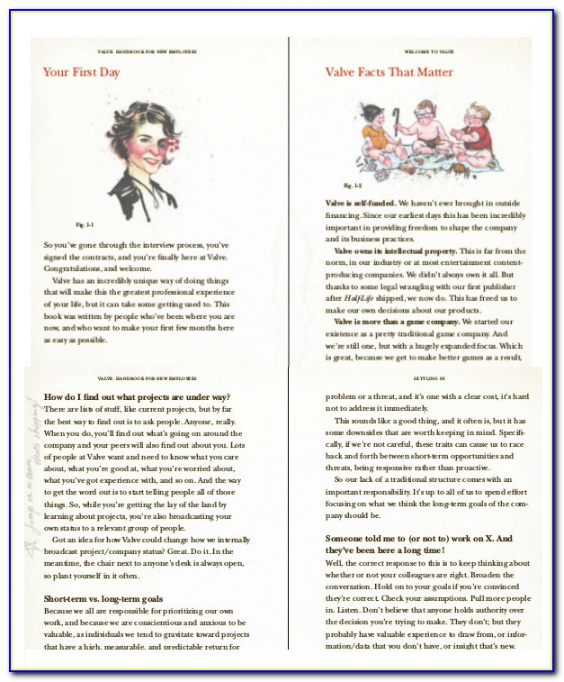 New Employee Handbook Template