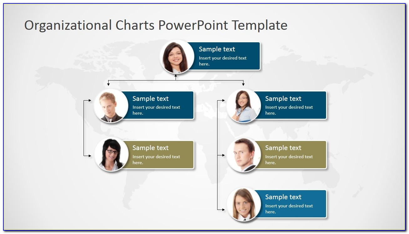 Organization Chart Template Powerpoint Free