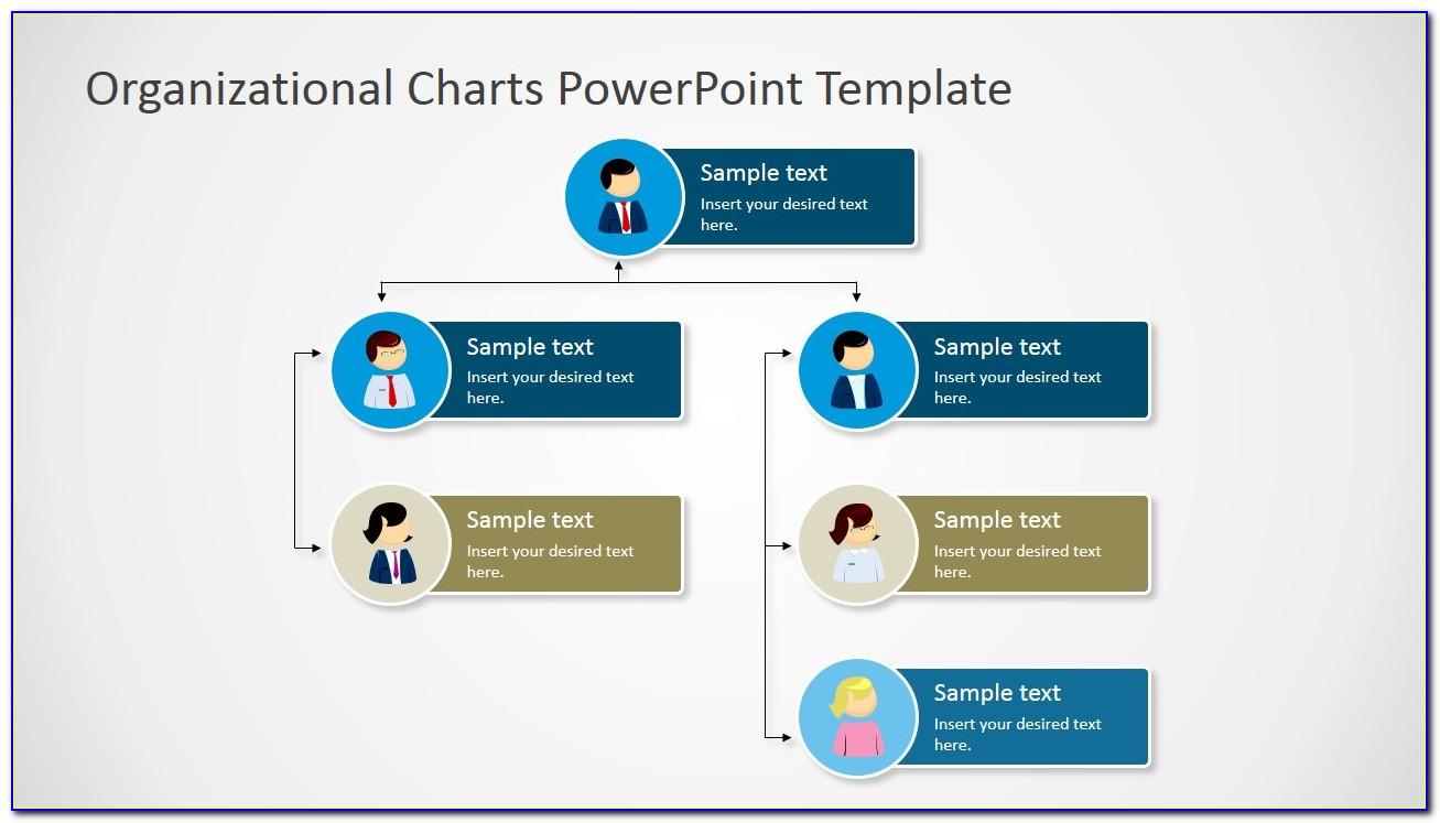 Organizational Chart Template Ppt Free