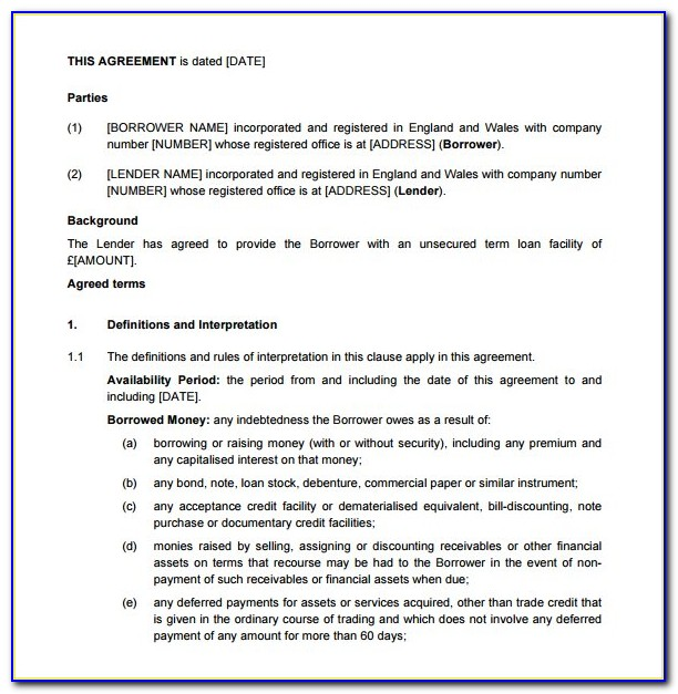 Outsourcing Agreement Template South Africa