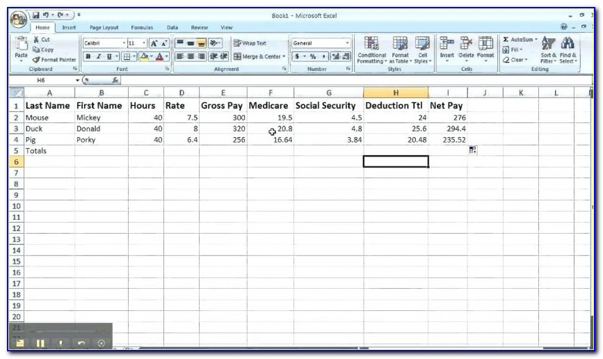 Payroll Reconciliation Template Canada