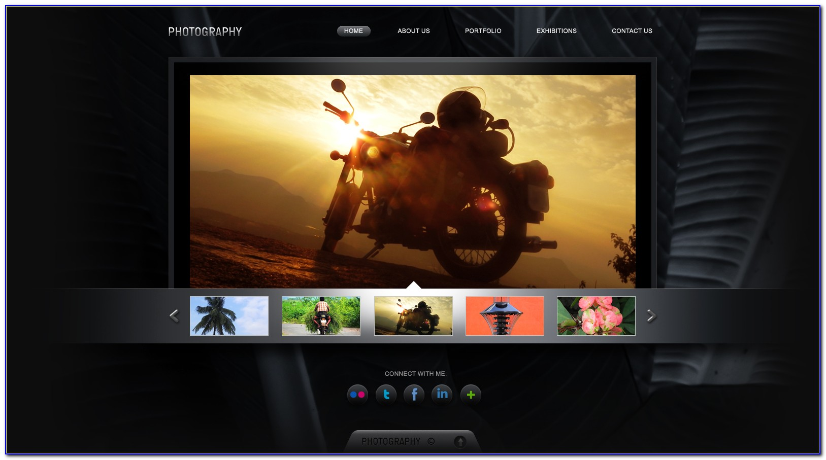 Photography Portfolio Website Templates Html5