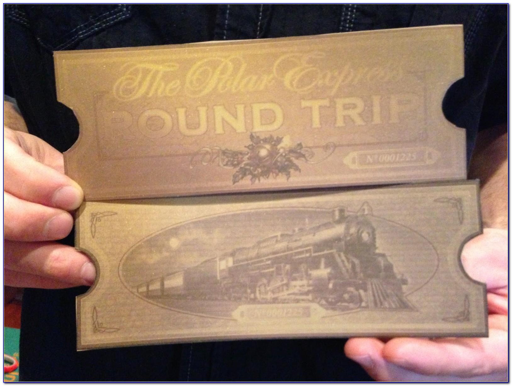Polar Express Ticket Printable Template