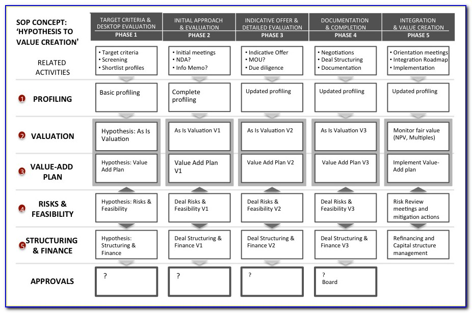 Post Merger Integration Plan Example