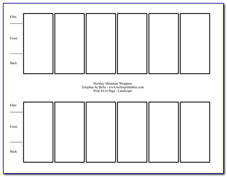 Printable Christmas Candy Bar Wrapper Template