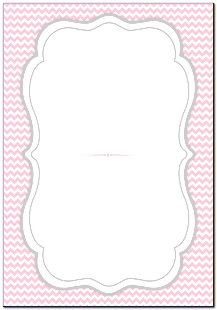 Printable Templates For Wedding Invitations