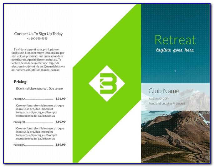 Professional Brochure Layout