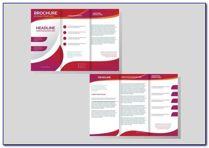 Professional Brochure Template Design
