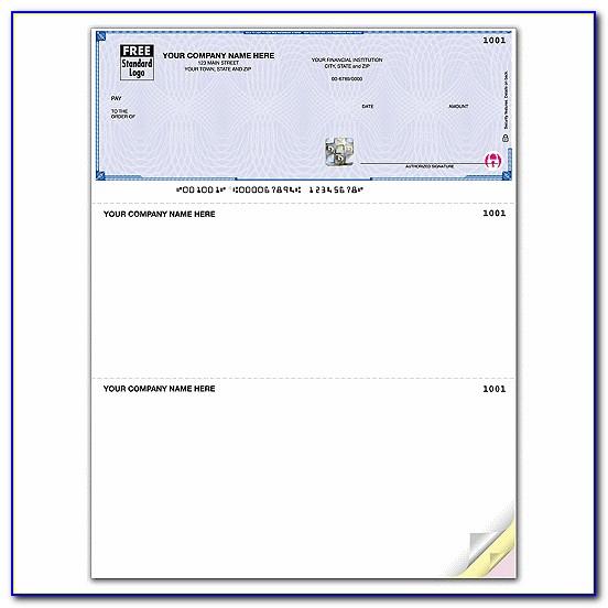 Quickbooks Pay Stub Sample
