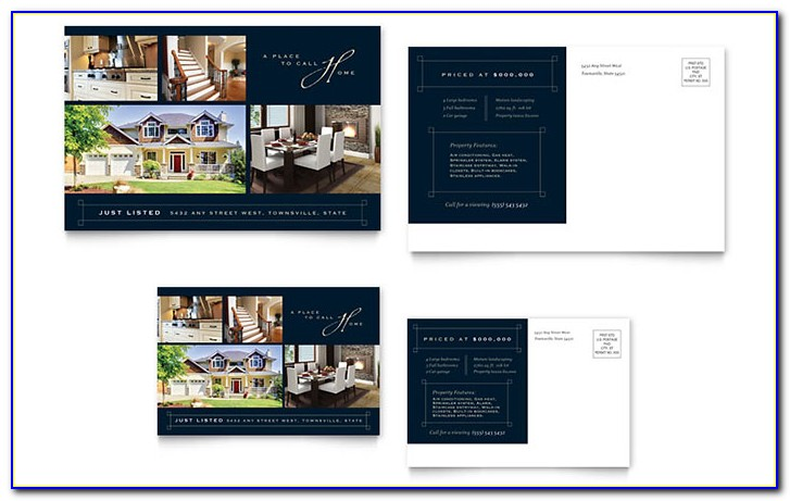 Real Estate Postcard Templates Psd