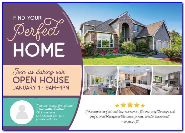 Realtor Open House Invitation Templates