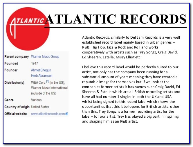 Record Label Contract Template Pdf