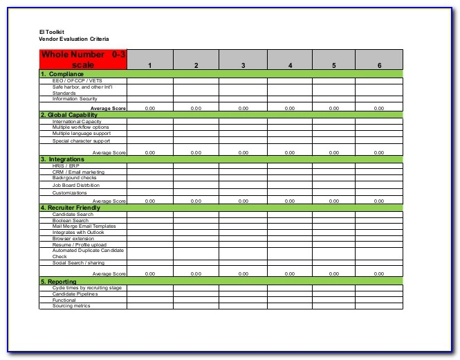 Recruitment Tracker Excel Template Free