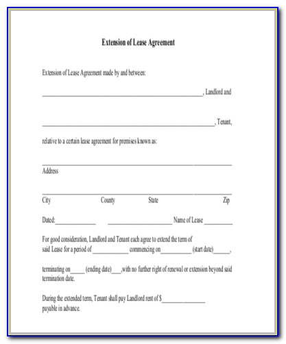 Renewal Of Lease Agreement Template South Africa