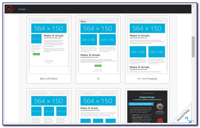Responsive Design Email Templates Free
