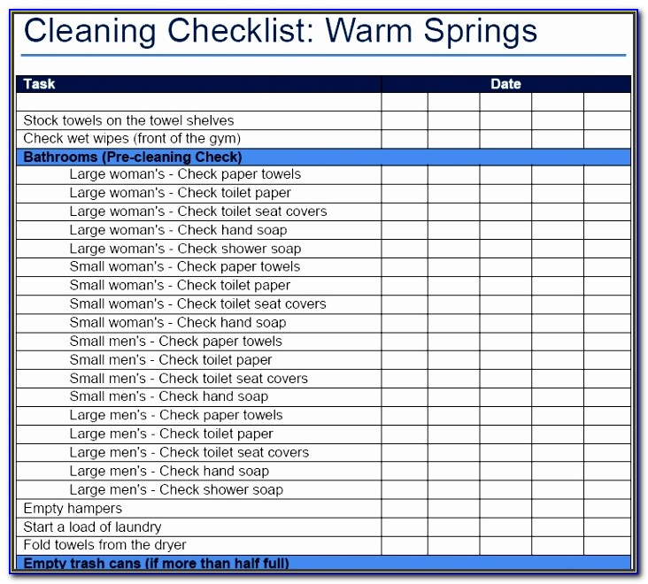Restaurant Bathroom Cleaning Checklist Template Pfnrh Fresh Search Results For Restaurant Cleaning Checklist Calendar 2015
