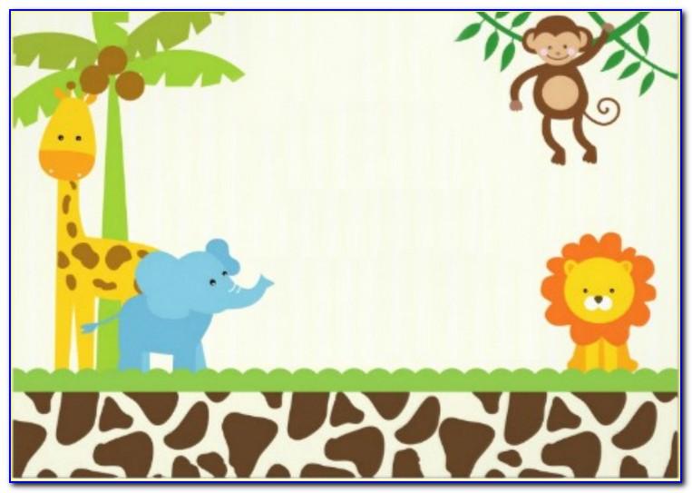 Safari Invitation Template Free Download