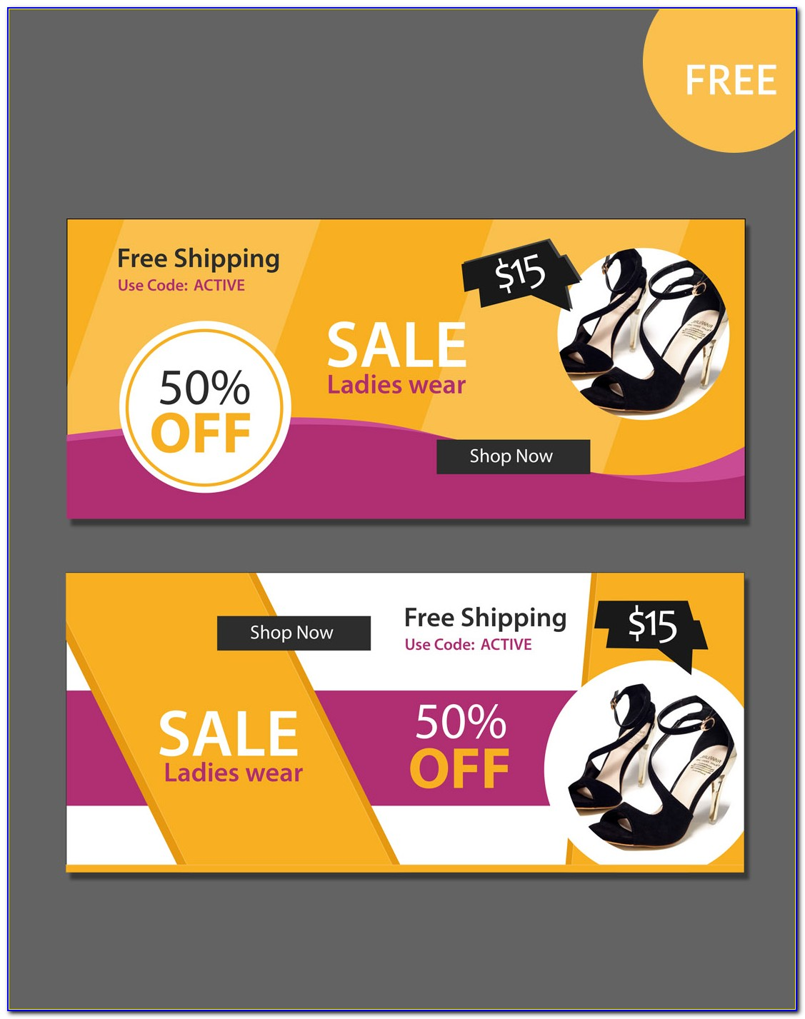 Sale Banner Template Free