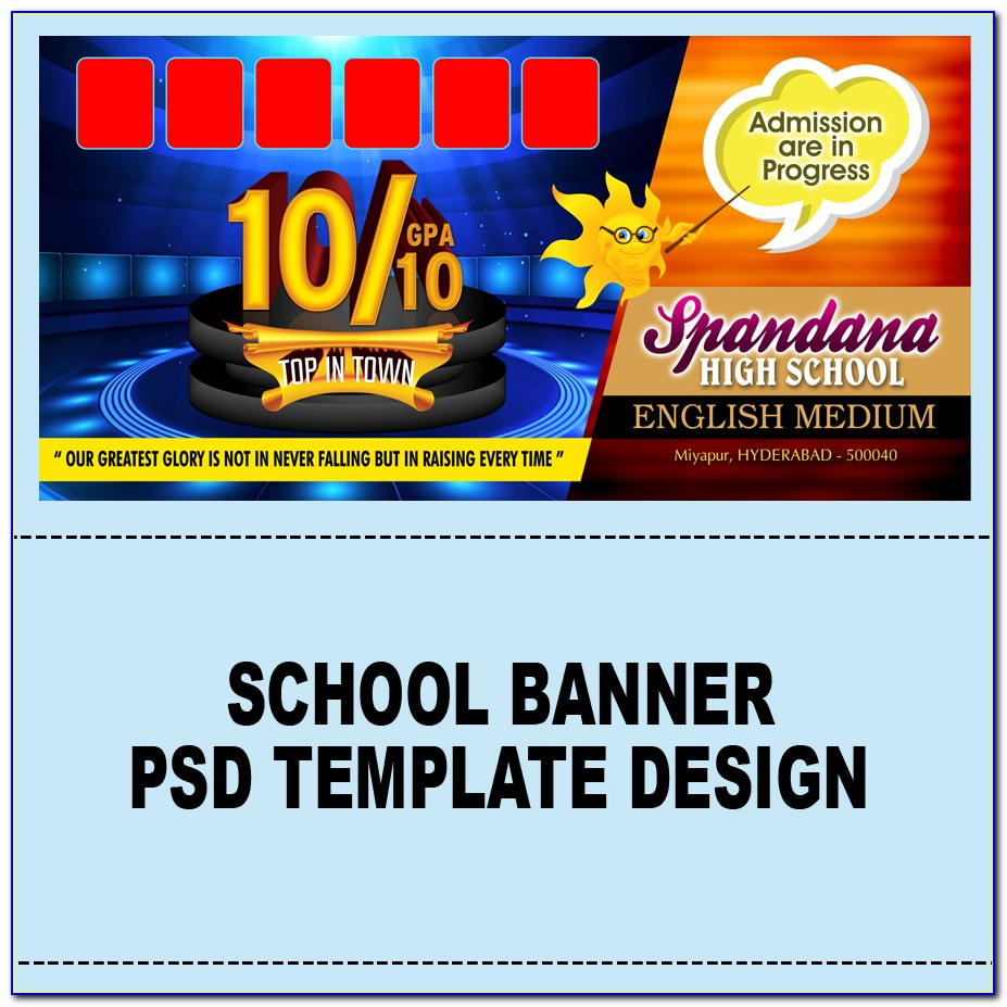 Sale Banner Template Word