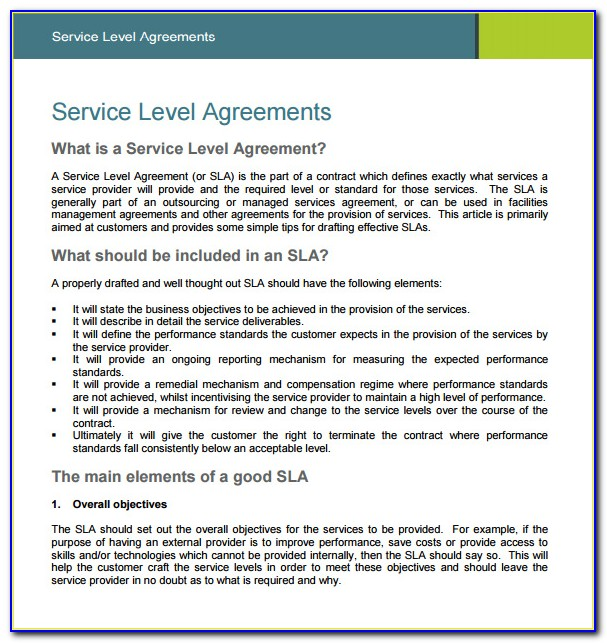 Sample Outsourcing Agreement Template
