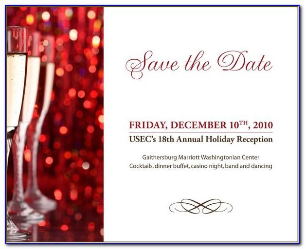 Save The Date Invite Templates