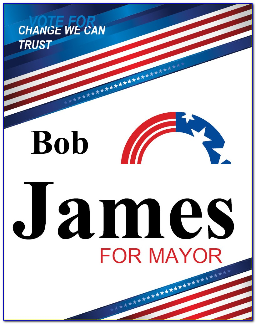 School Election Posters Templates