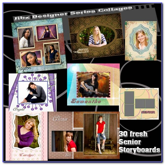 Senior Graduation Photo Announcement Templates