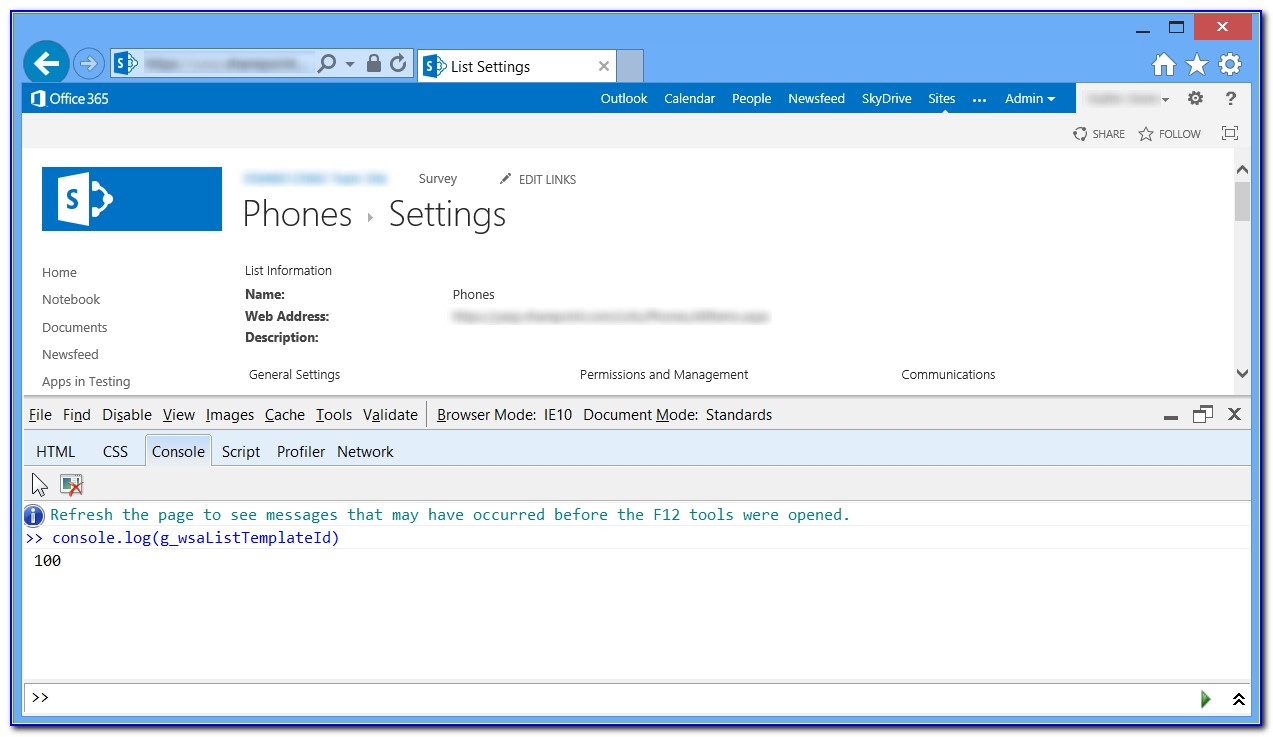 Sharepoint Library Template Permissions