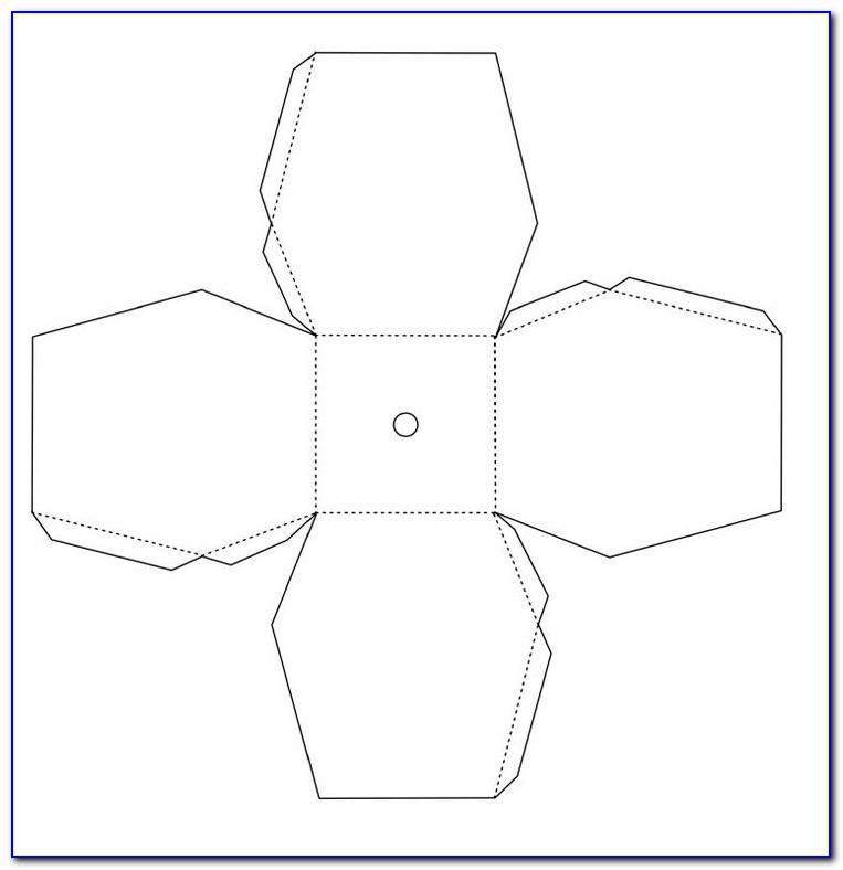 Simple Chinese Lantern Template