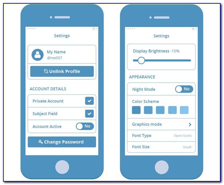 Sketch App Wireframe Template